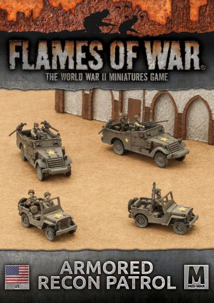 Flames of War US: Armoured Recon Platoon