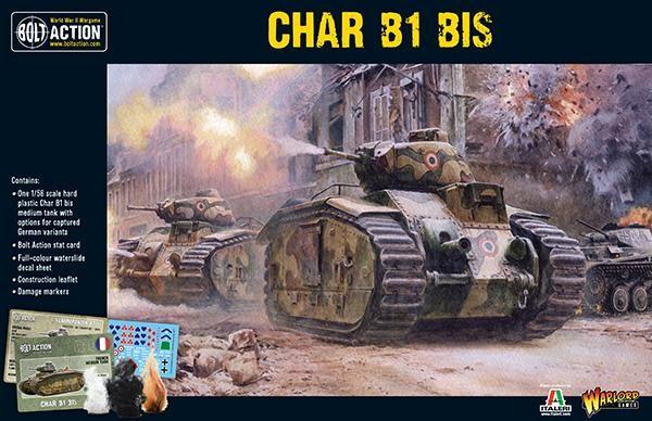 Bolt Action: French Char B1 BIS (Plastik)