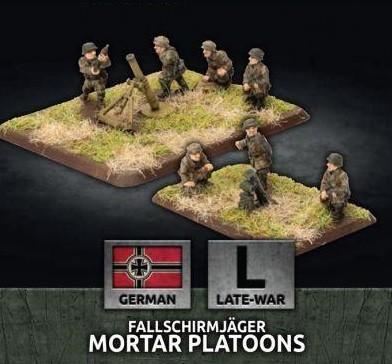 Flames of War BR: Fallschirmjäger Mortar Platoons