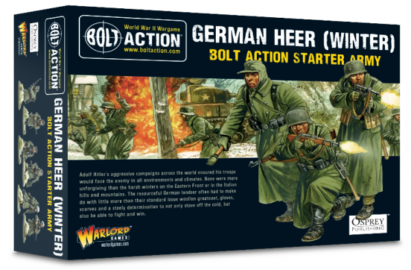 Bolt Action: German Winter Starter Army Set