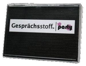 Gesprächsstoff: Party