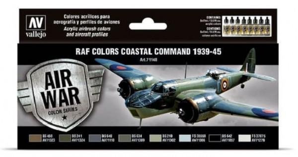 Model Air: Model Air Set RAF & FAA Coastal Command 1939-45 (8)