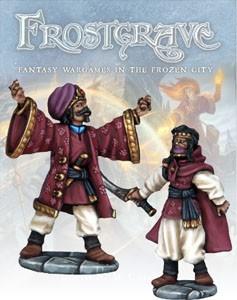 Frostgrave: Frostgrave Summoner & Apprentice