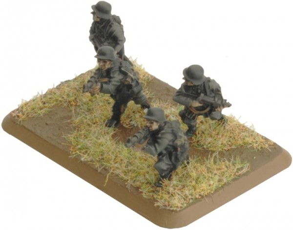 Flames of War GE: Assault Pioneer Platoon (Plastik)
