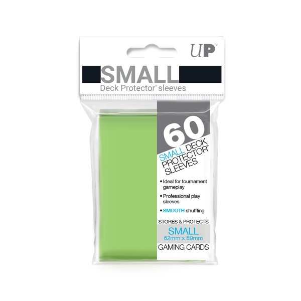 Small Deck Protector Lime Green 62x89mm (60)