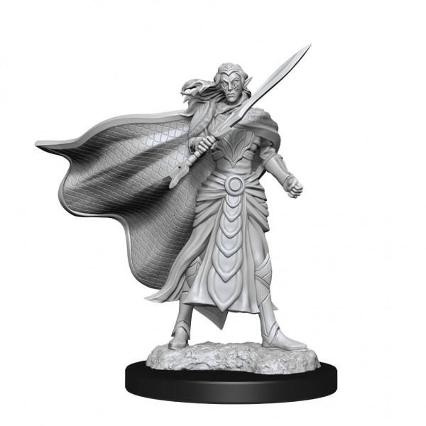 Elf Fighter & Elf Cleric