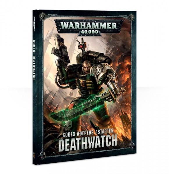 Warhammer 40k Space Marines: Deathwatch Codex (Hardback engl.)