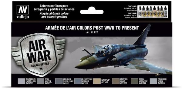 Model Air: Armée de l'Air colors post WWII to present