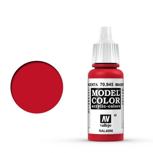 Vallejo Model Color: 042 Verkehrspurpur (Magenta), 17 ml (945)