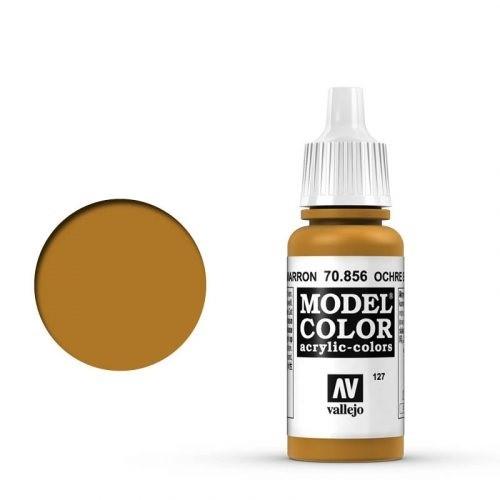Vallejo Model Color: 127 Gelbocker (Orchre Maroon), 17 ml (856)