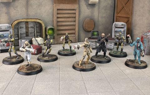 Fallout: Wasteland Warfare - Institute: Core Set (engl.)