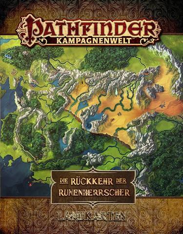 Die Rückkehr der Runenherrscher Landkartenset