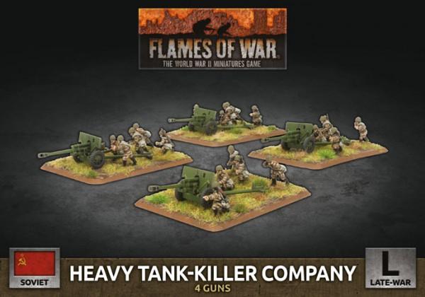 Flames of War SU: Heavy Tank Killer Company (x4 Plastik)
