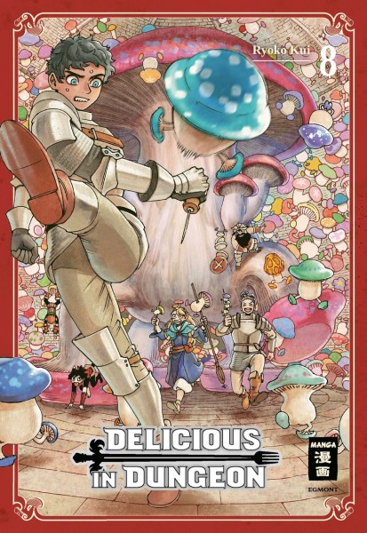 Delicious in Dungeon Band 08