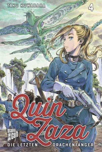 Quin Zaza - Die letzten Drachenfänger - Band 4