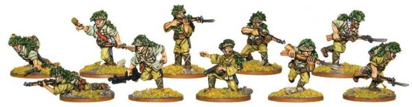 Bolt Action: Japanese Veteran Infantry Squad