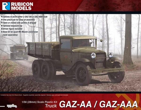 Soviet Gaz-AA/AAA Truck