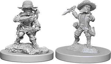 Pathfinder Deep Cuts Mini.: Male Halfling Rogue