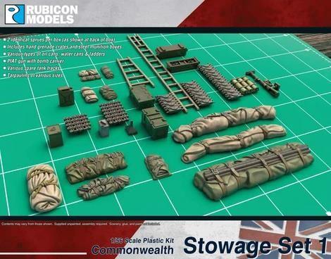 British Stowage Set 1