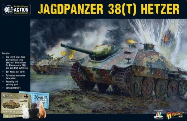 Bolt Action: German Hetzer (Plastic)
