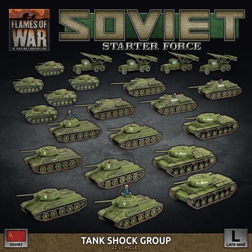 Flames of War SU: Late War Soviet Tank Shock Group