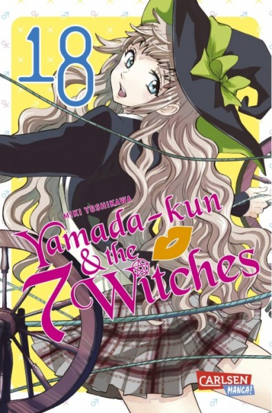 Yamada-kun and the seven Witches Band 18
