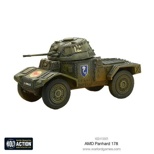 Bolt Action: French AMD Panhard 178