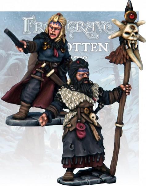 Frostgrave: Barbarian Wizard & Apprentice (2)