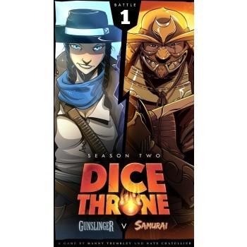 Dice Throne: Season Two - Gunslinger vs Samurai (eng.)
