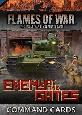 Flames of War SU: Enemy at the Gates - Command Cards (engl.)