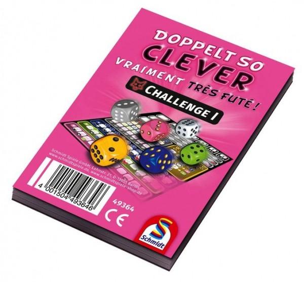 Doppelt so clever! Challenge 1 - Pink