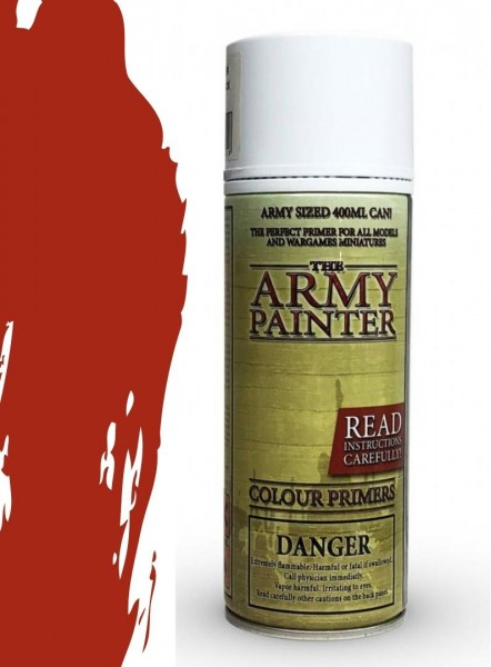 The Army Painter: Color Primer, Dragon Red 400 ml