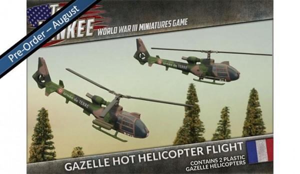 Team Yankee French Gazelle HOT (Plasticx2)
