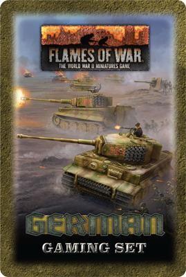 Flames of War Wehrmacht Gaming Tin Set