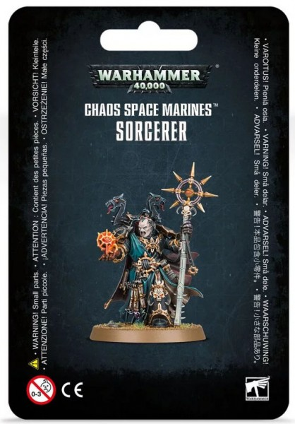 Warhammer 40k Chaos Space Marines: Chaos Space Marines Sorcerer
