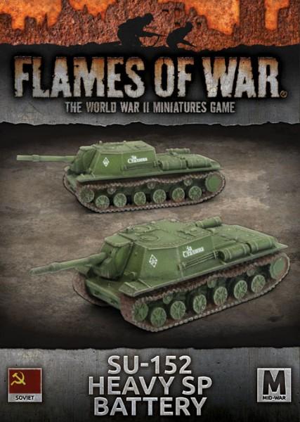 Flames of War SU: SU-152 Heavy SP Battery (x2)
