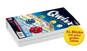 Qwixx XL 2 Zusatzblöcke