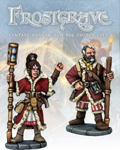 Frostgrave: Frostgrave Chronomancer & Apprentice