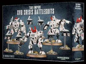 Warhammer 40k Tau: Tau Empire XV8 Crisis Battlesuits