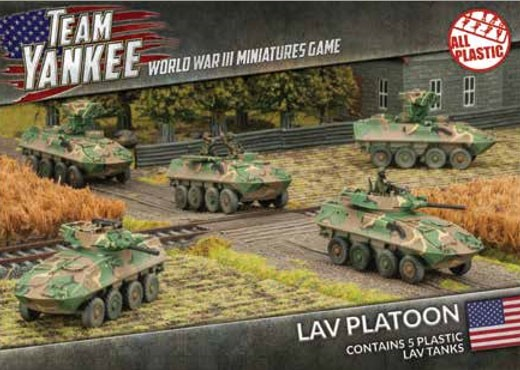 Team Yankee LAV-25 (x5 Plastic)
