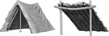 Pathfinder Deep Cuts Mini.: Tent & Lean-To