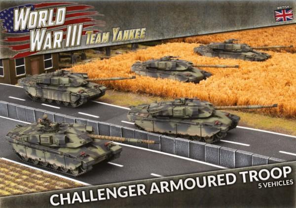 Team Yankee: Challenger Troop (Plastic x5)