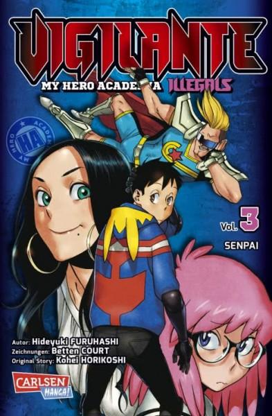 Vigilante - My Hero Academia Illegals Band 03