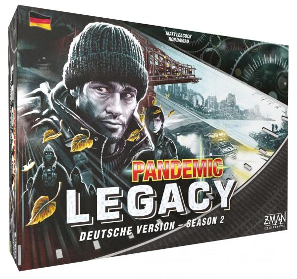 Pandemic Legacy Season 2 schwarz (deutsch)