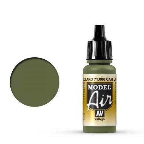 Vallejo Model Air: 006 Light Green Chromate, 17 ml