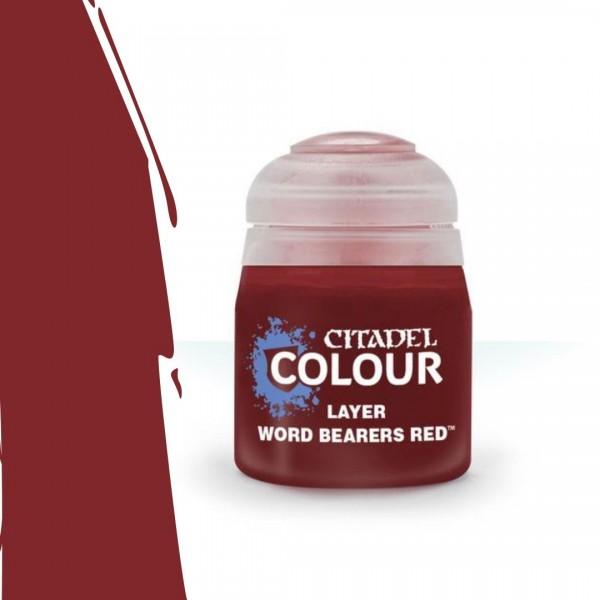Layer: Word Bearers Red 12ml