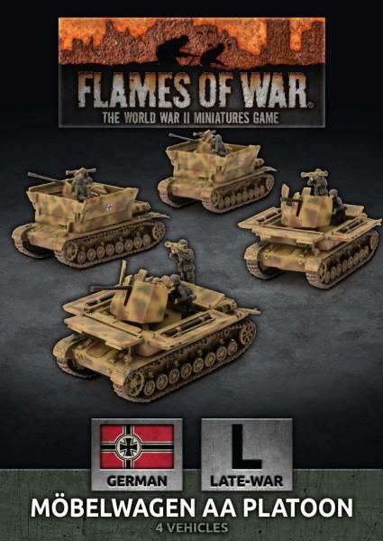 Flames of War GE: LW Möbelwagen AA Platoon (x4)