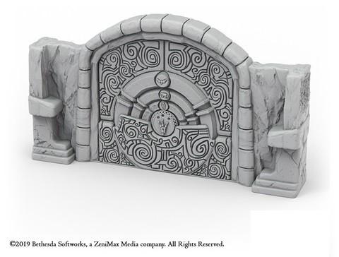 Puzzle Door Terrain Set - The Elder Scrolls - Call to Arms
