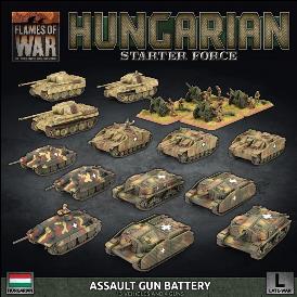 Flames of War: Hungarian Assault Gun Battery