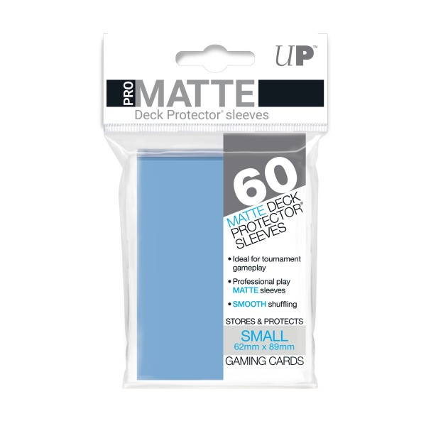 Small Deck Protector Pro-Matte Light Blue 62x89mm (60)